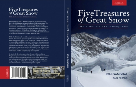 Five Treasures of Great Snow - et historisk mesterverk signert Jon Gangdal