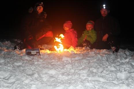 Nyttårstur på Längfjället naturreservat