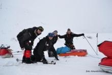 Naturforandringene merkes for Svalbard-på-langs-gjeng