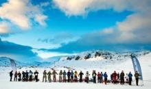 100km med ski og pulk over Hardangervidda