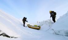 Brå slutt på nordpolekspedisjonen